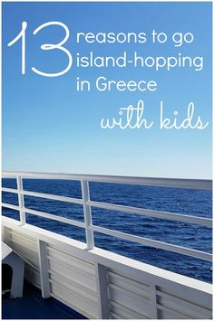 My 13 reasons to go Greek island hopping with kids - from the food and the glorious beaches to the history and the picturesque villages, there's something to tempt all ages. My latest trip was to the Dodecanese, to Kos and Symi, but there are itineraries galore if you prefer the Cyclades or Ionian islands too.