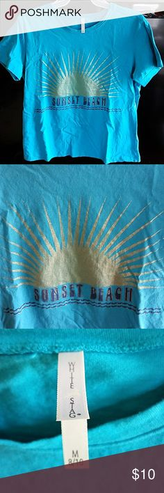 Sunset beach t-shirt size M by White Stag Size M T-shirt for the summer like new White Stag Tops Tees - Short Sleeve