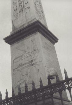 Germaine Krull - Obélisque, Place de la Concorde, Paris; 1928