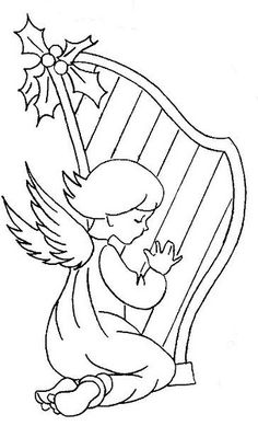 ANGEL HARPa by *♥Help Idéi@s♥*, via Flickr
