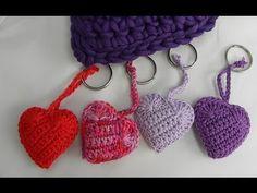 Häkeln - Herz - Doppelt - Veronika Hug - YouTube Crochet Videos, Crochet Toys, Amigurumi Toys, Spiral, Crochet Earrings, Diy Crafts, Etsy, Sewing, Knitting