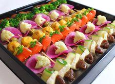 彩り野菜のピンチョス | Ricca Catering & Deli