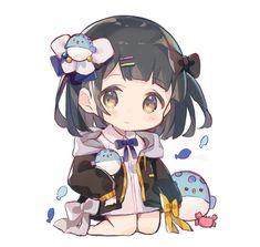 Cute Anime Chibi, Kawaii Chibi, Anime Girl Cute, Kawaii Art, Kawaii Anime Girl, Anime Art Girl, Cute Animal Drawings Kawaii, Kawaii Drawings, Cute Drawings