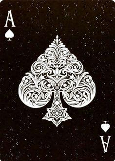 Ace Of Spades Tattoo, Tattoo Studio, Ace Card, Playing Cards Art, Geniale Tattoos, Card Tattoo, Cool Art, Graffiti, Illustration Art