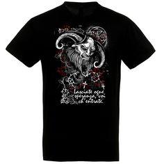 Occult Demon fekete póló Occult, Polo, Halloween, Mens Tops, T Shirt, Supreme T Shirt, Tee Shirt, Polo Shirt, Halloween Stuff