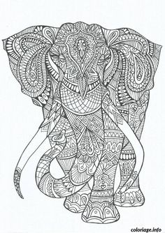 Coloriage anti stress adulte 111 Dessin à Imprimer