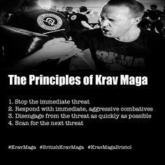 The principles of krav maga. #KRAVMAGA
