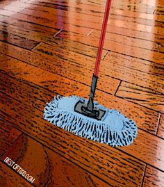 Homemade Wood-Floor Cleaner