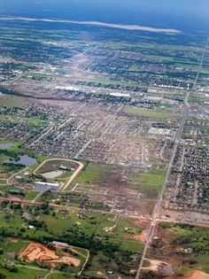 Oklahoma Tornado Levels Towns may 20 2013 Most recent disaster - just this month - total devastation!  Lucky more people were not killed...