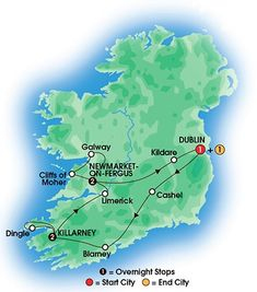 Map Of South Ireland New Zealand.7 Best Ireland Tours Images In 2018 Ireland Travel Coach Tours