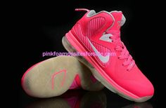 Lebron 9 Womens Think Pink Kay Yow White   #Pink #Womens #Sneakers