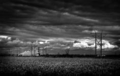 Beautiful Cotton Field at Plum Point (Please ignore the high tension transmission lines coming from the coal fired steam plant) -   #art, #feedthearts, #photography, #artphotography, #jmontrellstark, #sotherngothic