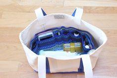 簡単 便利なバッグインバッグの作り方 | 無料ハンドメイド型紙まとめ