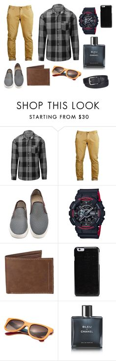 """""""Guys Church Outfit"""" by dylanjacobclements ❤ liked on Polyvore featuring G-Shock, Levi's, Maison Margiela, Chanel, Columbia, men's fashion and menswear"""
