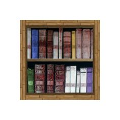 Book Shelf Block Wall Decal 4 Sizes Available by WilsonGraphics