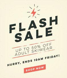 Trespass.com - Adult Skiwear Flash Sale! by michaelclayton.co.uk