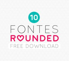 10 Rounded Fonts for free