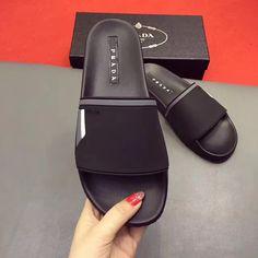 Prada man slippers flats #MensSlippers