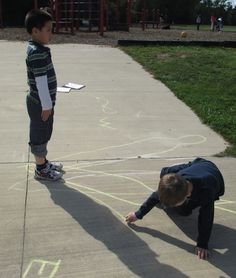 Interactive science: human sundial experiment