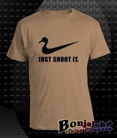 Just Shoot It (Duck) (T-Shirt) - Outlaw Custom Designs, LLC