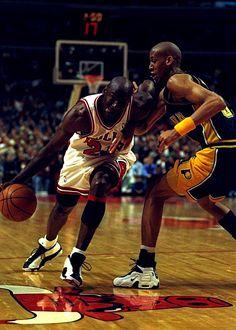 Michael Jordan & Reggie Miller