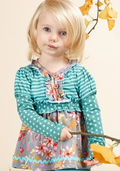 Matilda Jane Quizzical Tunic, size 12-18 months, $18. Contact me to claim or visit my Facebook group: https://www.facebook.com/groups/982989135107078/
