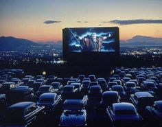 Drive-in movies. Good memories.