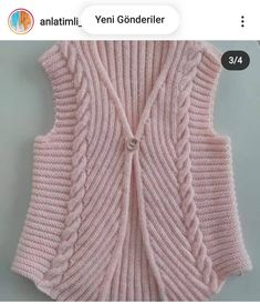 Lace Knitting Patterns, Knitting Stiches, Baby Knitting, Sweater Design, Baby Dress, Diy And Crafts, Sweaters, Dresses, Fashion