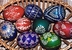Lithuanian eggs. made these once and they turned out really pretty.