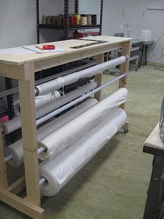 Fabric Cutting Table Ex Fashion Codesigners Table As New