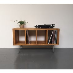 Sonor Small Record Player Lp Vinyl Storage Cabinet Console Table on... ($462) ❤ liked on Polyvore featuring home, furniture, console tables & cabinets, dark olive, home & living, living room furniture, storage furniture, handmade furniture, handcrafted furniture and record player furniture