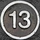 images of the number.13 - Google Search