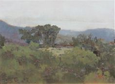 """Montana Vista"" is an original oil by Marie Wise.  It measures 12"" x 16"".    Marie studied at The Art Students League in New York & in Italy where she studied Art History & Studio Art. She has studied with Ruth Munson, Joe Anna Arnett, Sherrie McGraw, Gregg Kreutz, Nancy Bush, Michael Workman, Bruce Williamson and Dee Beard Dean.  She travels to paint and is constantly photographing the world around her looking for that special atmosphere that makes her want to capture it on canvas."