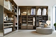 Gliss Quick Walk-in closets - Molteni
