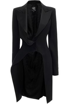 Black is cool Veste Alexander McQueen Resort 2014 Look Blazer, Navy Blazer Outfits, Langer Mantel, Fashion Photography Inspiration, Mode Style, Gothic Fashion, What To Wear, Stylish, Coat