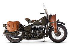 1942 Harley-Davidson 739cc WLA Military Motorcycle Frame no. 42WLA64462 Engine no. 42WLA64462