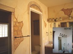 paint a fake brick wall | Treatments - CK Paints | Custom Hand Painted Wall Treatments - Faux ...