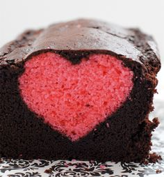 Show your sweetheart just how much you love them with a rose heart chocolate cake!