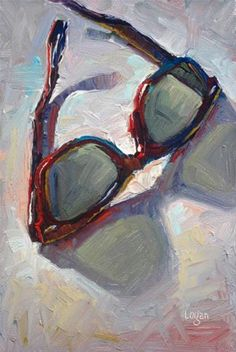 My New Shades - Original Fine Art for Sale - © Raymond Logan