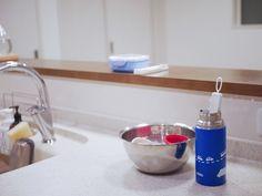 毎日使う水筒の汚れはこれでごっそり!ほったら家事で楽チンなお手入れ方法|LIMIA (リミア) Sink, Kitchen Appliances, Cleaning, Bottle, Home Decor, Lifestyle, Happy, Sink Tops, Diy Kitchen Appliances