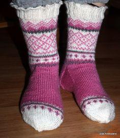 rosa sokker pink socks