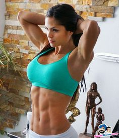 Michelle Lewin - Female Fitness Models