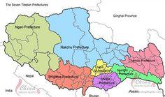 The Seven Tibetan Prefectures