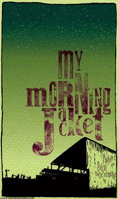 My Morning Jacket - Gig Poster