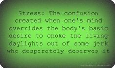 stress put simply