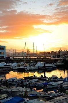 Atardecer en Puerto Chico #Santander #Cantabria #Spain