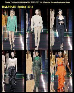 I LOVE THESE EXOTIC STYLES & COLORS! @Balmain #fashion #fashionblogger #FashionWeek #dresses #BalmainNation #couture