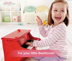 Start your #child's #musical journey at a young, ripe age. At aBaby, we have pianos for all ages in a variety of sizes, shapes, and colors. #baby #kids #toddler #nursery #piano #music #musician #kidsmusic #music #childrensmusic #babymusic #kidssongs #kidsmusicclass #pianist #singer #love #drums #musica #pianocover #keyboard #violin #pianomusic #classicalmusic #pianoplayer #musicians #pianoforte Music For Kids, Kids Songs, Piano Player, Piano Cover, Musical Toys, Baby Music, Music Class, Piano Music, Product Offering