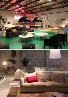 Black lounge chairs (Jardan)