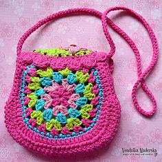 The Spring is almost here - welcome it with Spring birdie purse! Your little girl will look so cute wearing it :-)  *This is a crochet pattern and not the finished item*  This pattern is written in standard American (US) terms, in the English language, with step-by-step instruction and